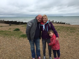 Me Paul and Grace - Whitstable